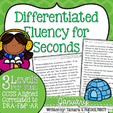 Second Grade Fluency: January Edition
