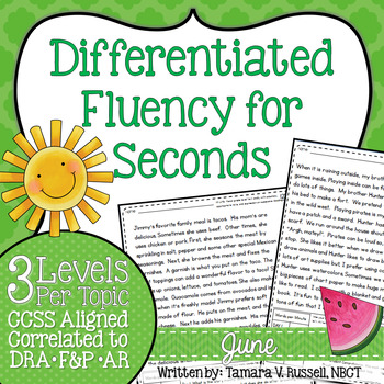 Second Grade Fluency: June Edition