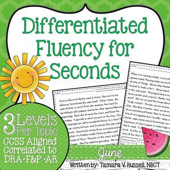 Second Grade Fluency: June Edition