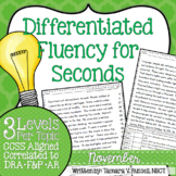 Second Grade Fluency: November Edition
