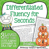 Second Grade Fluency: October Edition