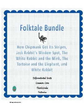 Differentiated Folktales Bundle for Common Core