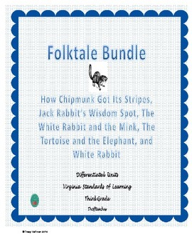 Differentiated Folktales Bundle for Virginia Standards of