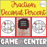 Differentiated Fraction Decimal Percent Match-A-Roo! Inter