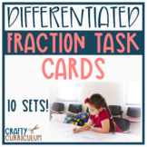 Differentiated Fraction Task Cards