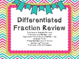 Differentiated Fraction Review (with a QR Code option)