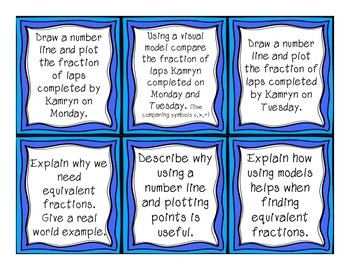 Differentiated Fraction Word Problems