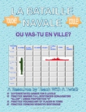 Differentiated French Battleship game - Aller + places in
