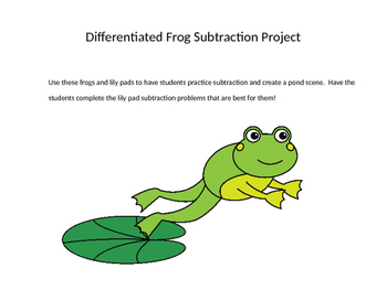 Differentiated Frog Subtraction