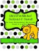 Differentiated Geoboard Game!  Hands on geometry!