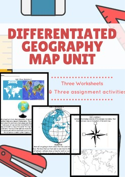 Differentiated Geography Map Unit Preview