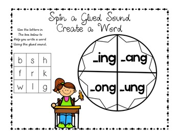Differentiated Glued Sounds Activities - ng, nk glued sounds