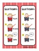 Differentiated Good Reader Strategy Cards