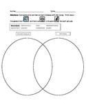Differentiated Graphic Organizer- Compare and Contrast Anc