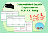 Differentiated Graphic Organizers for D.A.R.E. Essay