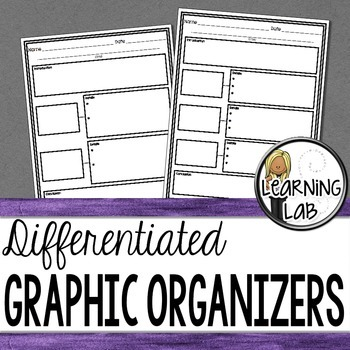 Differentiated Graphic Organizers for Writing Pieces