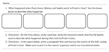 Differentiated Graphic Organizers for Understanding Sequence Video Download