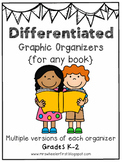 First Grade Differentiated Graphic Organizers