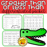 Differentiated Greater Than or Less Than Packet