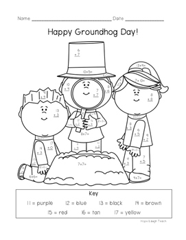 Groundhog Day Differentiated Color By Sum