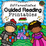 Reading Response Worksheets for Guided Reading Activities