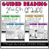 Differentiated Guided Reading Lesson Plans for 2nd-5th grades.