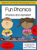 Alphabet and Phonics Centers: Differentiated Guided Reading for Kindergarten