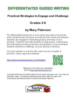 Differentiated Guided Writing Grades 3-6
