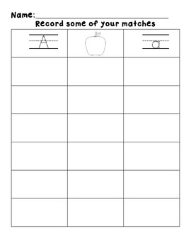 Differentiated Halloween Letter/Sound match - Common Core aligned