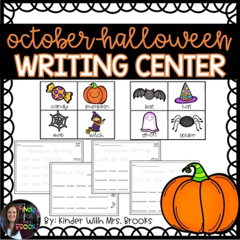 Differentiated Halloween Writing Center