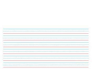 Differentiated Handwriting Paper Template Mega Packpromethean