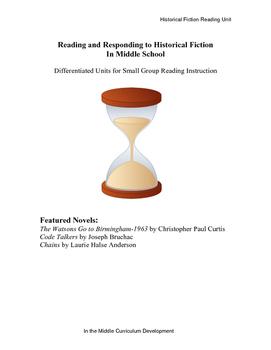 Differentiated Historical Fiction Unit Bundle