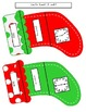 Differentiated Christmas Themed Math Centers for 1st Grade
