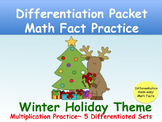 Differentiated Holiday Math Practice_Multiplication