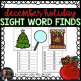 Differentiated Holiday Sight Word Find