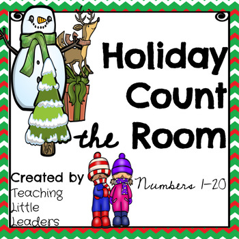 Differentiated Holiday/Winter Count the Room