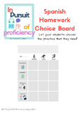 Differentiated Homework Choice Board