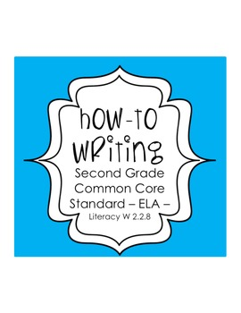 Differentiated How To Writing