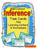 Differentiated Inference Task Cards Plus Centers & Worksheets