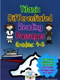 Differentiated Informational Reading Passages - Titanic