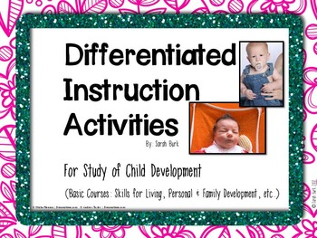 Differentiated Instruction Activities - Basic Child Development Study