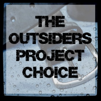 Differentiated Instruction Activity for The Outsiders