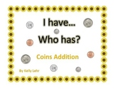 Differentiated Instruction - I have, Who has... Math Coin