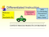 Differentiated Instruction QuickPic!