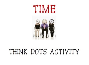 Differentiated Instruction Time Skills Tiered Lesson and Think Dots