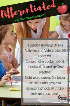 Phonemic Awareness, Phonics & Technology, differentiated toolkit