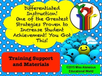Differentiated Instruction: Training Support and Materials