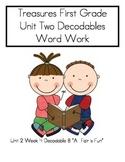 Word Work- Treasures First Grade Unit 2 Week 2 Decodable 4