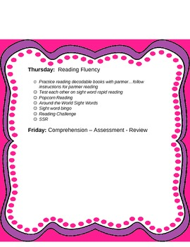 Differentiated Instruction for Weekly Vocabulary