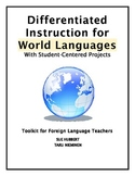 Differentiated Instruction for World Languages-Toolkit-Foreign Language Teachers